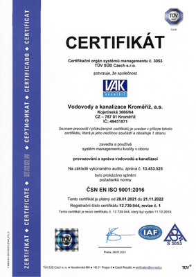 Certifikát-english