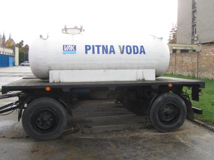 Pronájem cisterny s pitnou vodou